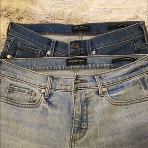 2 PAIRS OF JEANS FROM Banana Republic!